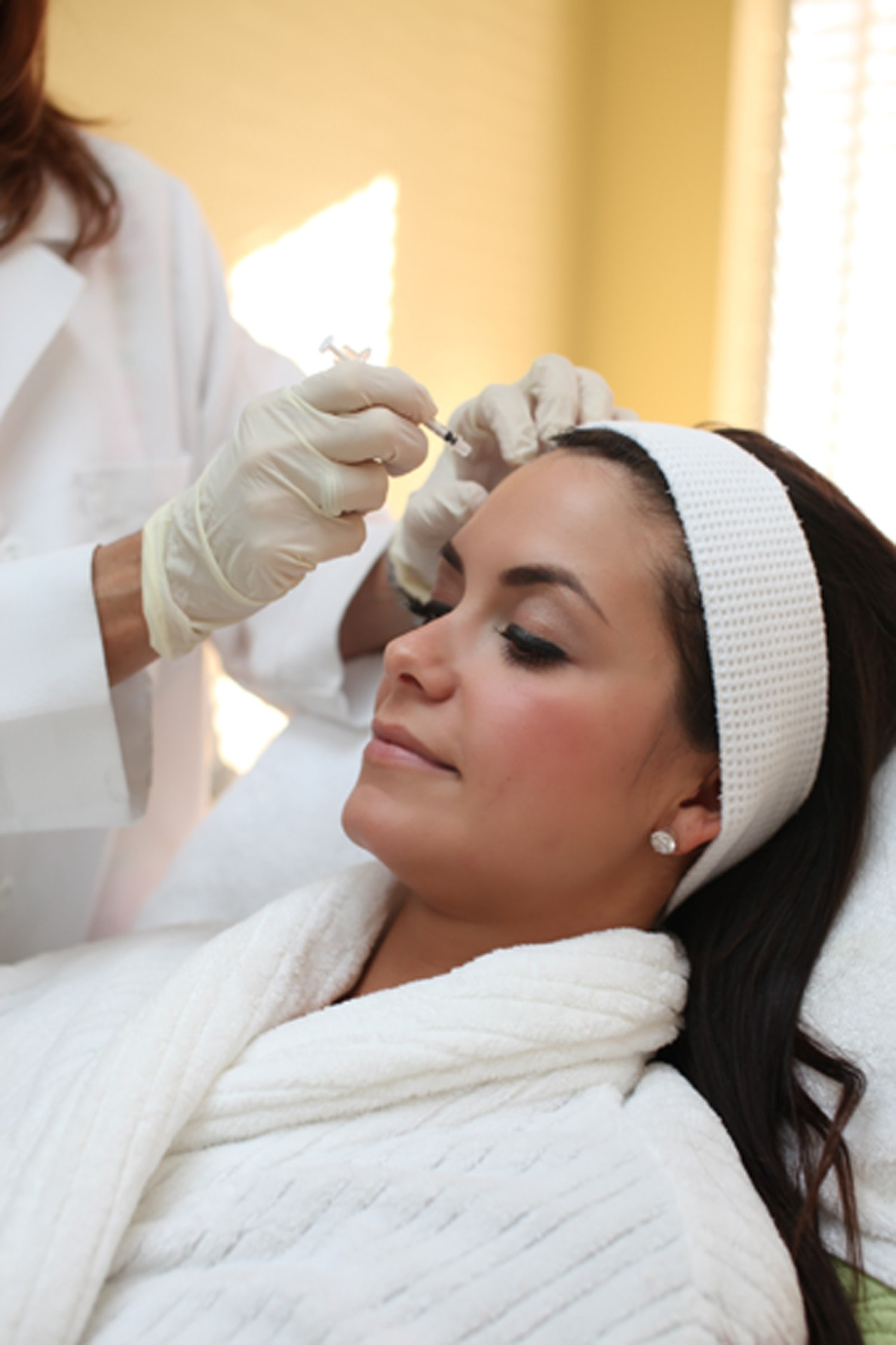botox procedure at skin nv